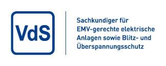 VdS Sachverständiger EMV-gerechte elektrische Anlagen so wie Blitz- und Überspannungsschutz
